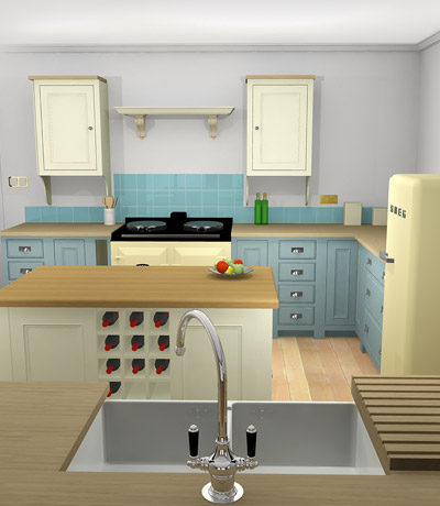 Neptune kitchen design